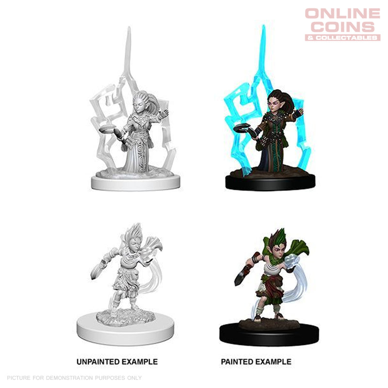 Pathfinder Battles Deep Cuts Unpainted Miniatures Gnome Female Druid
