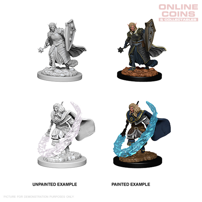 Pathfinder Deep Cuts Unpainted Miniatures Gnome Male Druid