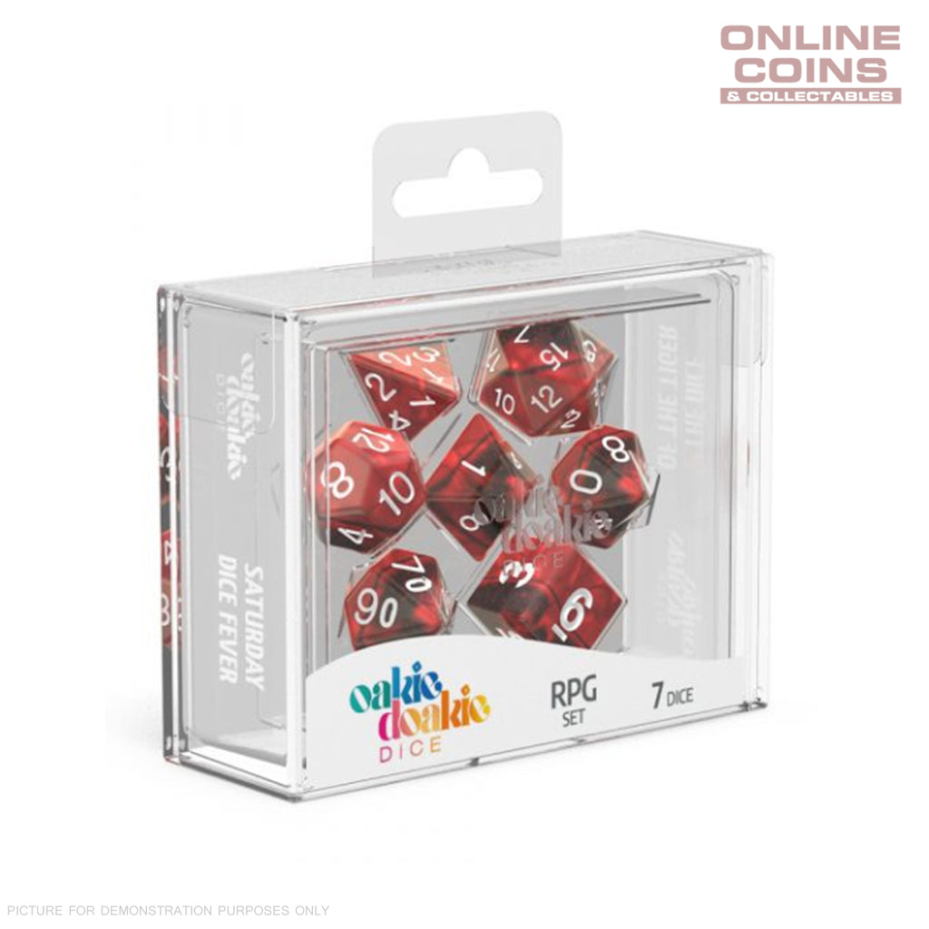 OAKIE DOAKIE DICE - RPG-SET GEMIDICE - Vampire Dice