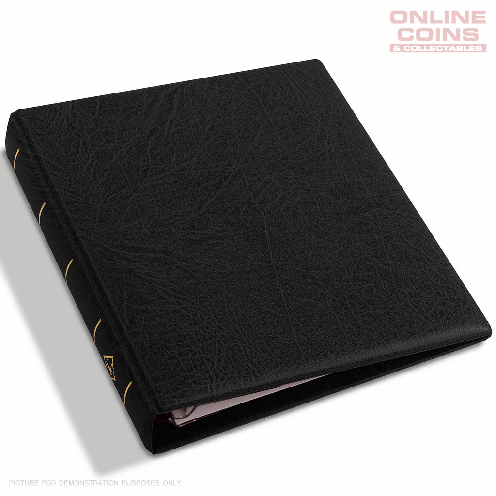 Lighthouse - OPTIMA F Binder and Slipcase for Coins, Stamps & Banknotes - BLACK