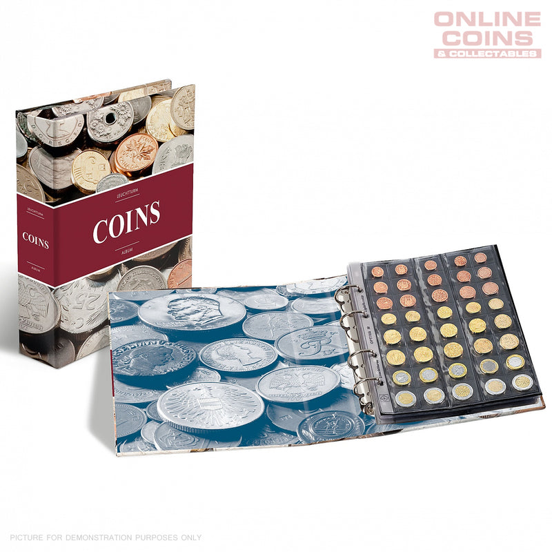 "LIGHTHOUSE COIN ALBUM OPTIMA ""COINS"" INCLUDING 5 COIN PAGES"