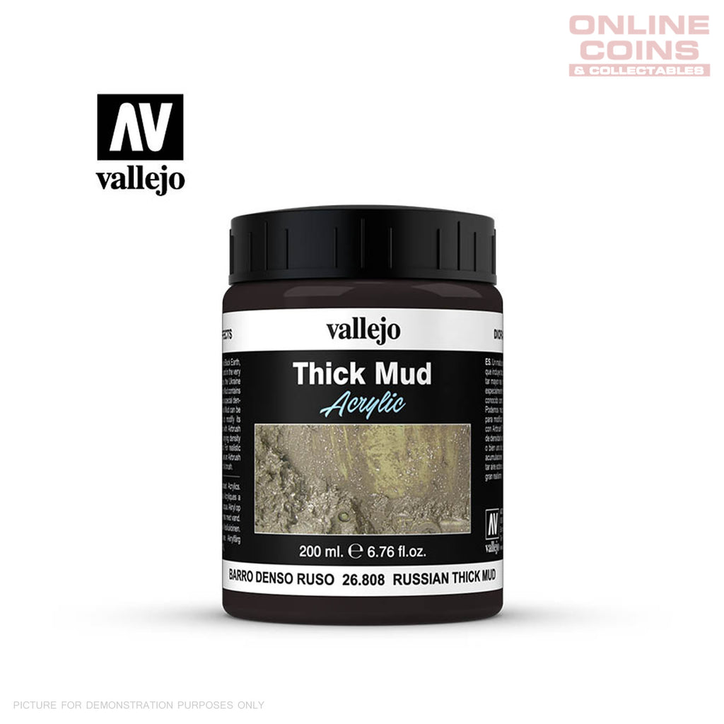 Vallejo 26.808 Diorama Effects Russian Thick Mud 200ml