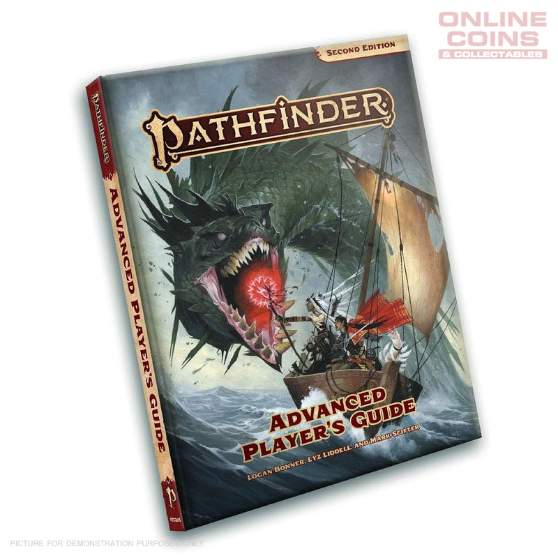 PATHFINDER 2ND EDITION ADVANCED PLAYER'S GUIDE - HARD COVER