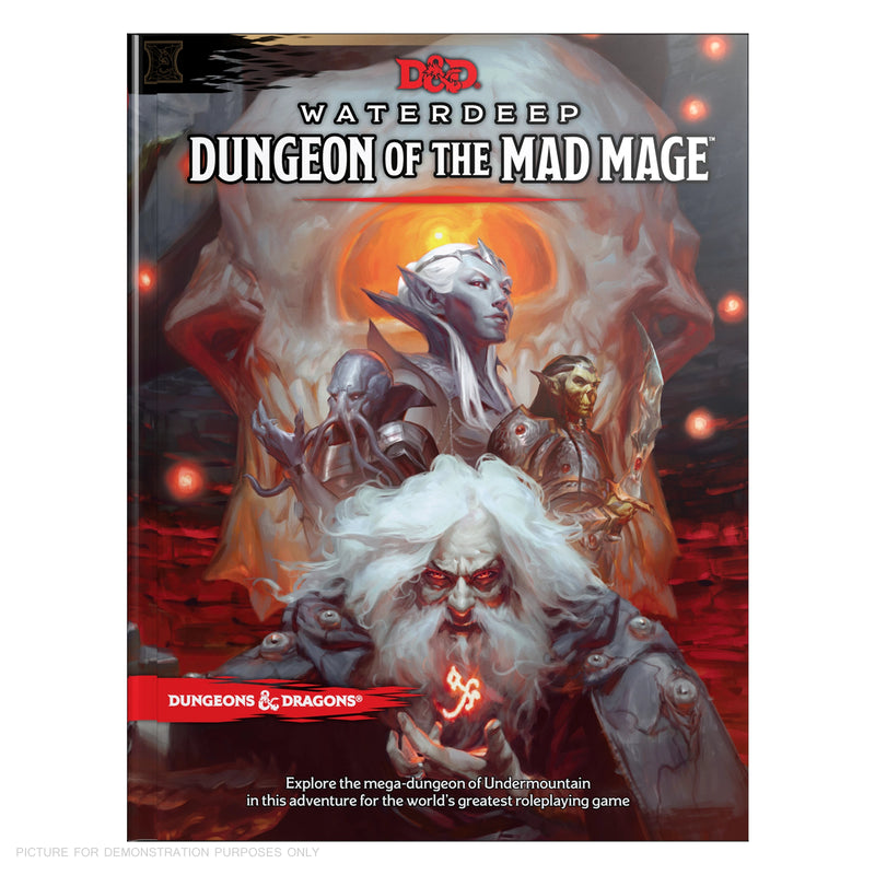 Dungeons and Dragons - Waterdeep Dungeon of the Mad Mage - Hard Cover Book