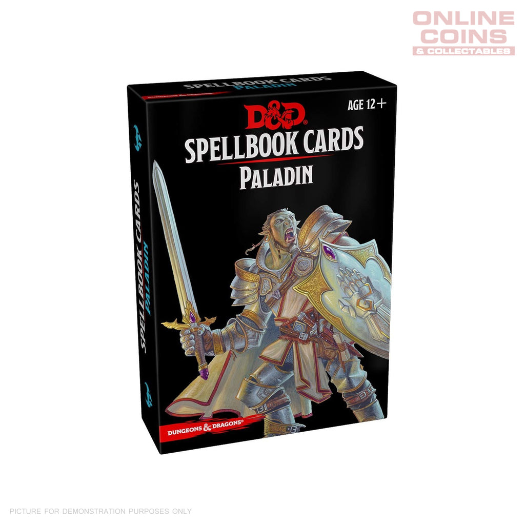 Dungeons and Dragons Spellbook Cards Paladin Deck (69 Cards) Rev. 2017 Edition