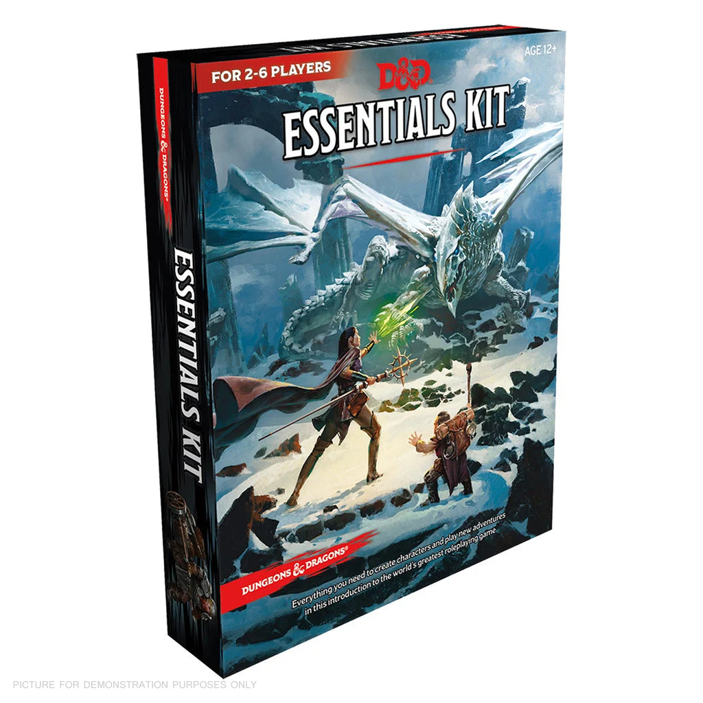 Dungeons and Dragons Essentials Kit - Boxed