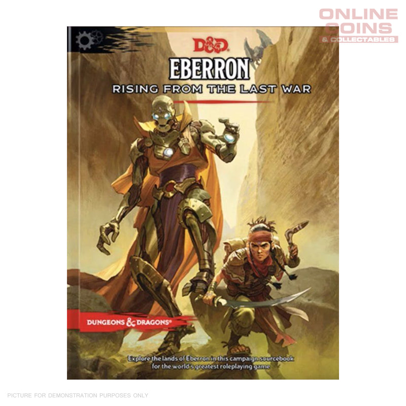Dungeons and Dragons Eberron Rising from the Last War - Hard Cover Book