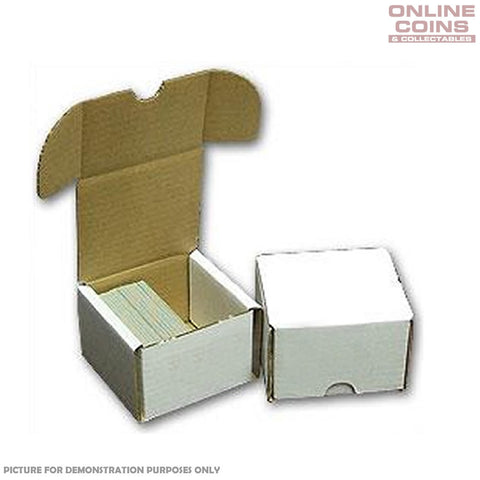 Sports Images Card Storage Box - Cardboard 200 Count - High Quality Box One Only
