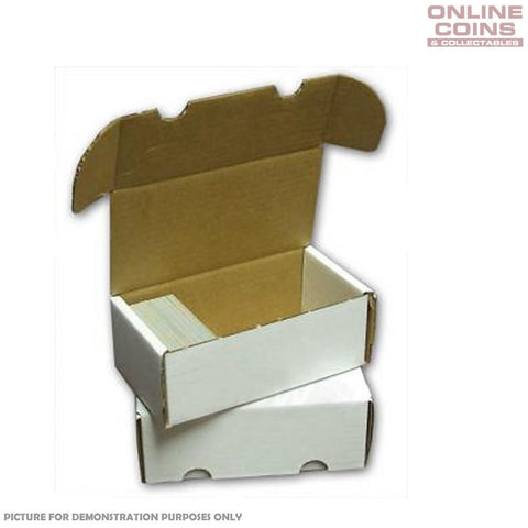 Sports Images Card Storage Box - Cardboard 400 Count - High Quality Box One Only