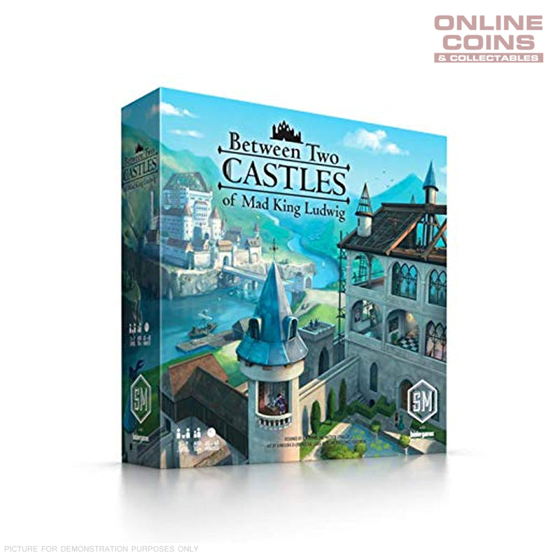 Between Two Castles of Mad King Ludwig - Board Game - Stonemaier Games