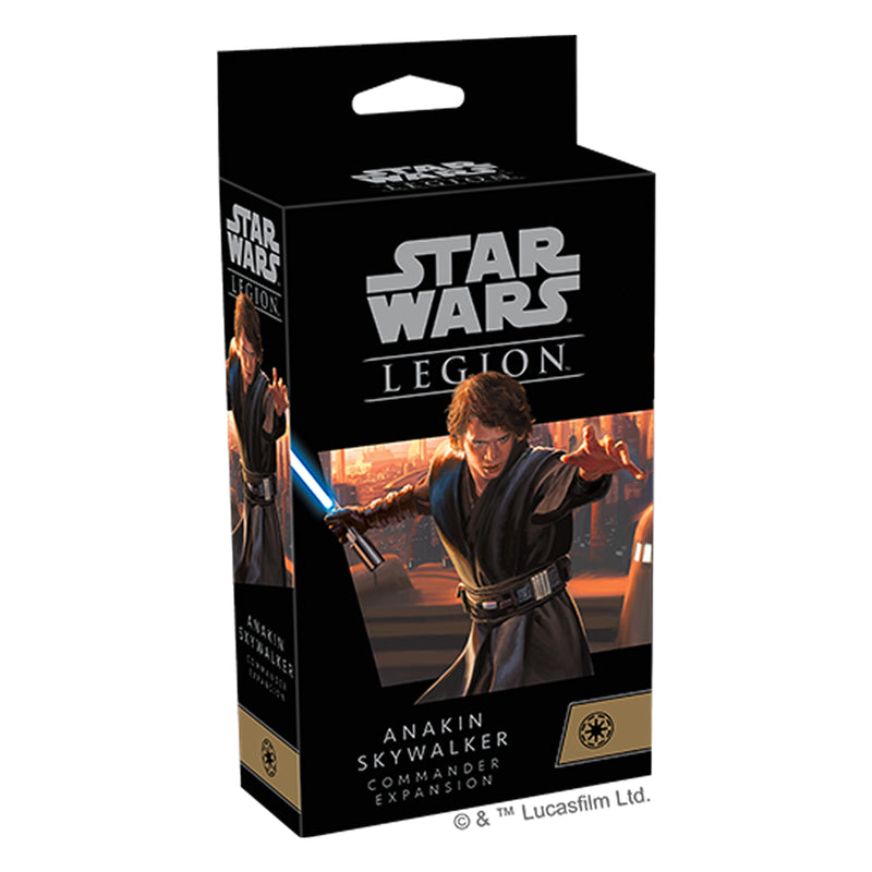 Star Wars Legion Anakin Skywalker Commander Expansion Pack
