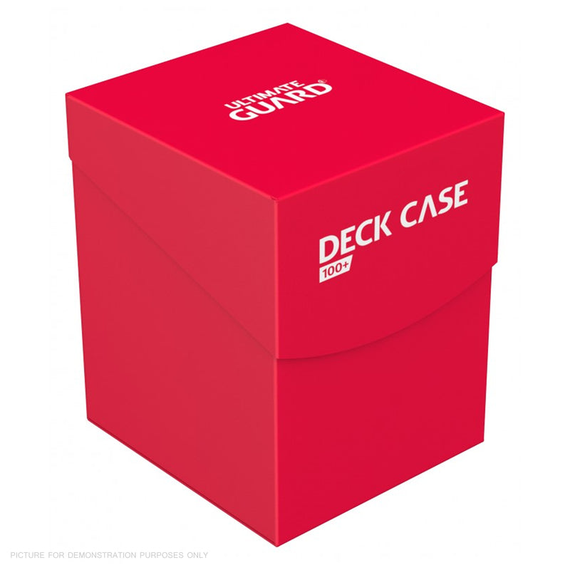 Deck Box Ultimate Guard Deck Case 100+ Standard Size RED