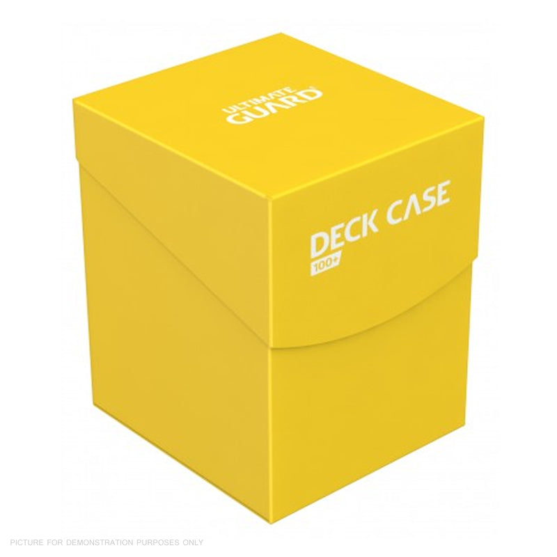 Deck Box Ultimate Guard Deck Case 100+ Standard Size YELLOW