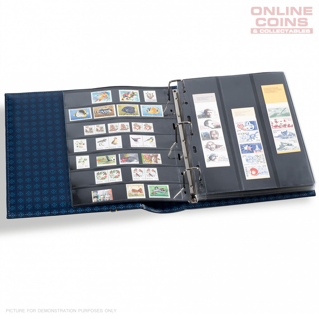 Lighthouse Classic Vario Gigant Album and Slipcase For Banknotes and Stamps - Green