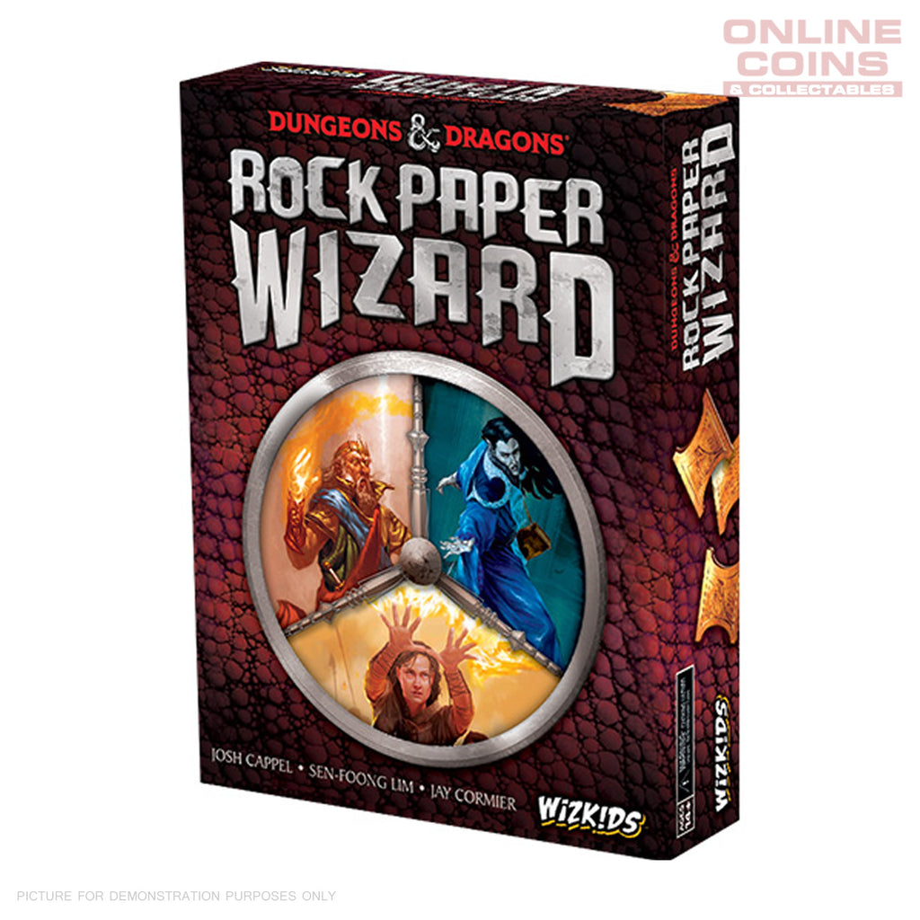 Dungeons and Dragons - Rock Paper Wizard - Wizkids - 3-6 Players