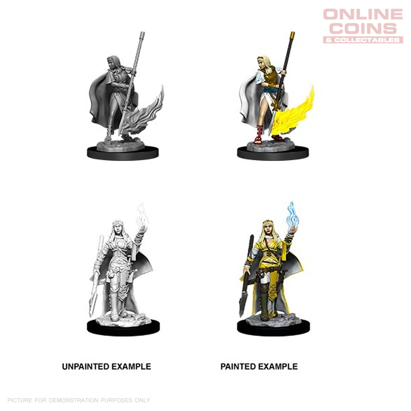 Pathfinder Battles Deep Cuts Female Human Oracle - Miniatures