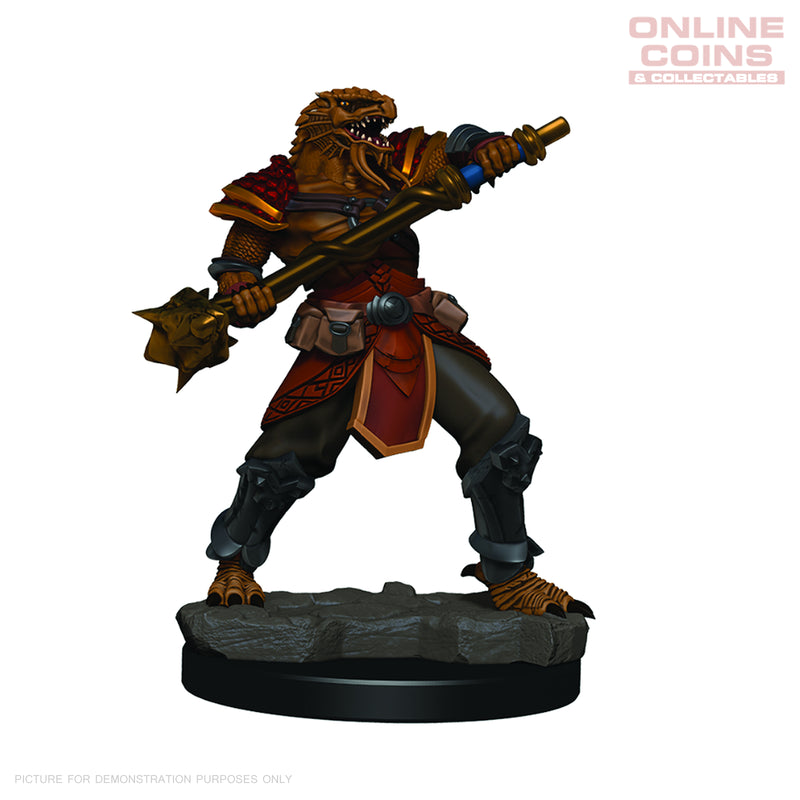 D&D Premium PAINTED Figures Male Dragonborn Fighter - WIZKIDS