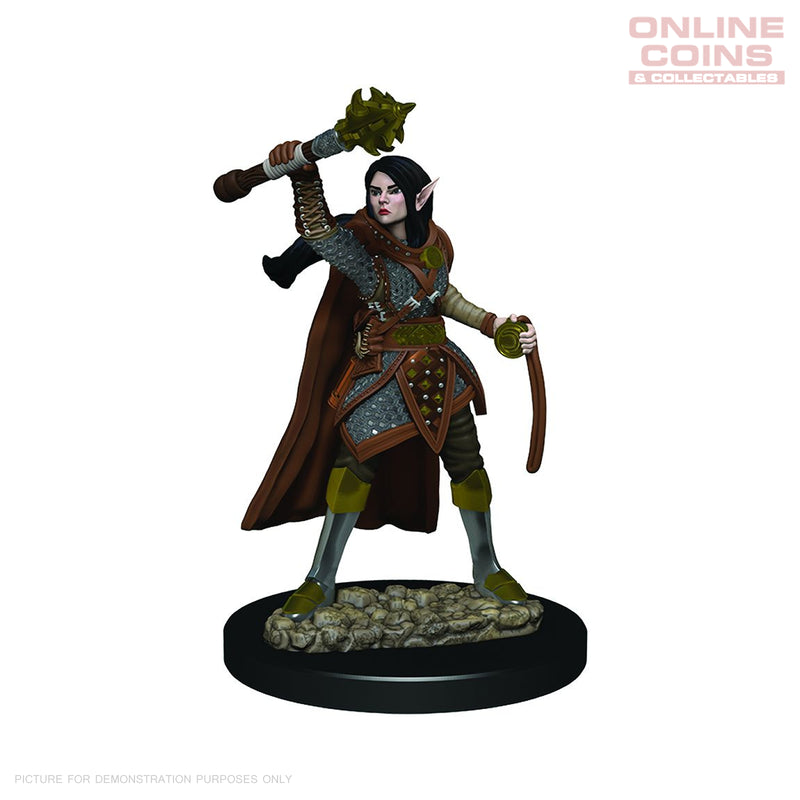 D&D Premium PAINTED Figures Female Elf Cleric - WIZKIDS