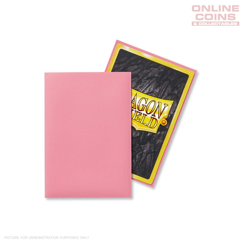 DRAGON SHIELD - Japanese Card Sleeves Matte PINK Pack of 60 #AT11112