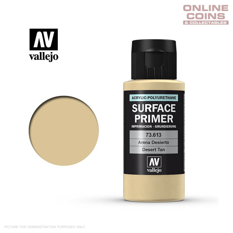 Vallejo 73.613 Surface Primer - DESERT TAN 60ml Bottle