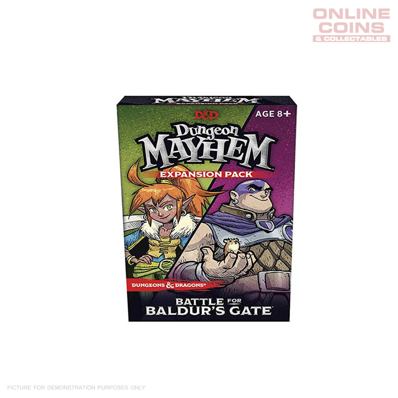 D&D Dungeon Mayhem Expansion Battle for Baldurs Gate