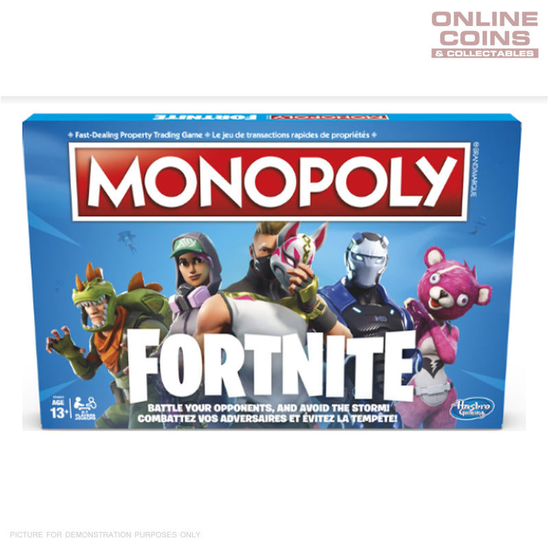 FORTNITE MONOPOLY - Hasbro - Board Game