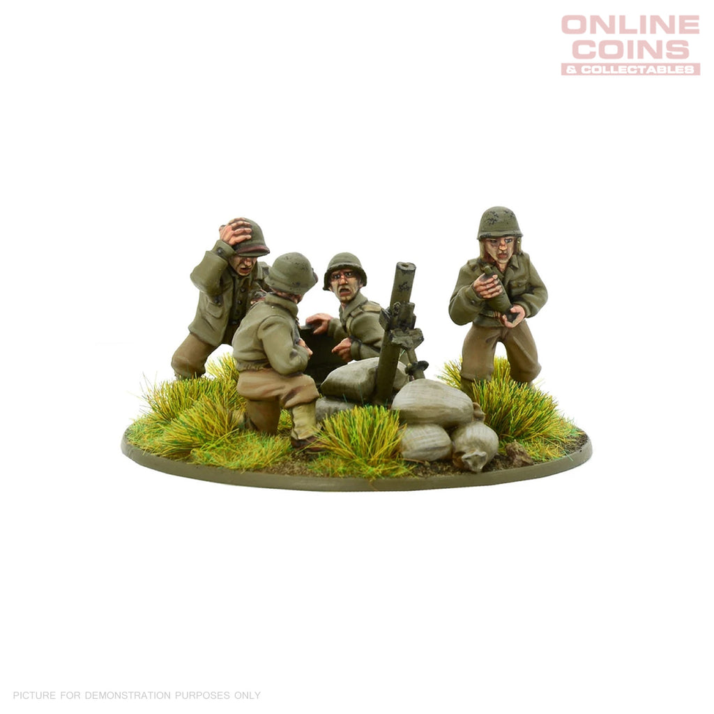 Warlord Games - Bolt Action US Army heavy mortar team