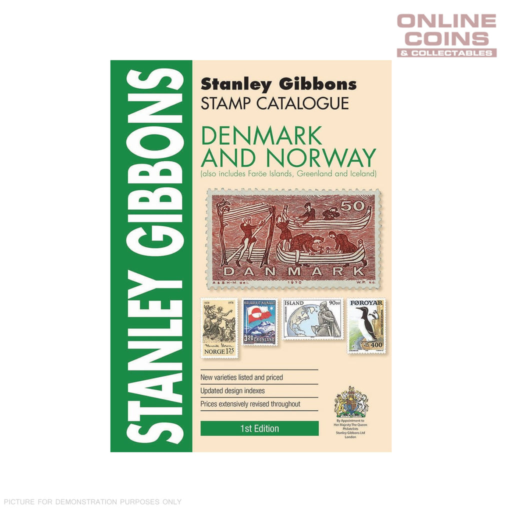 2018 Stanley Gibbons - Stamp Catalogue Denmark & Norway Catalogue 1st Edition