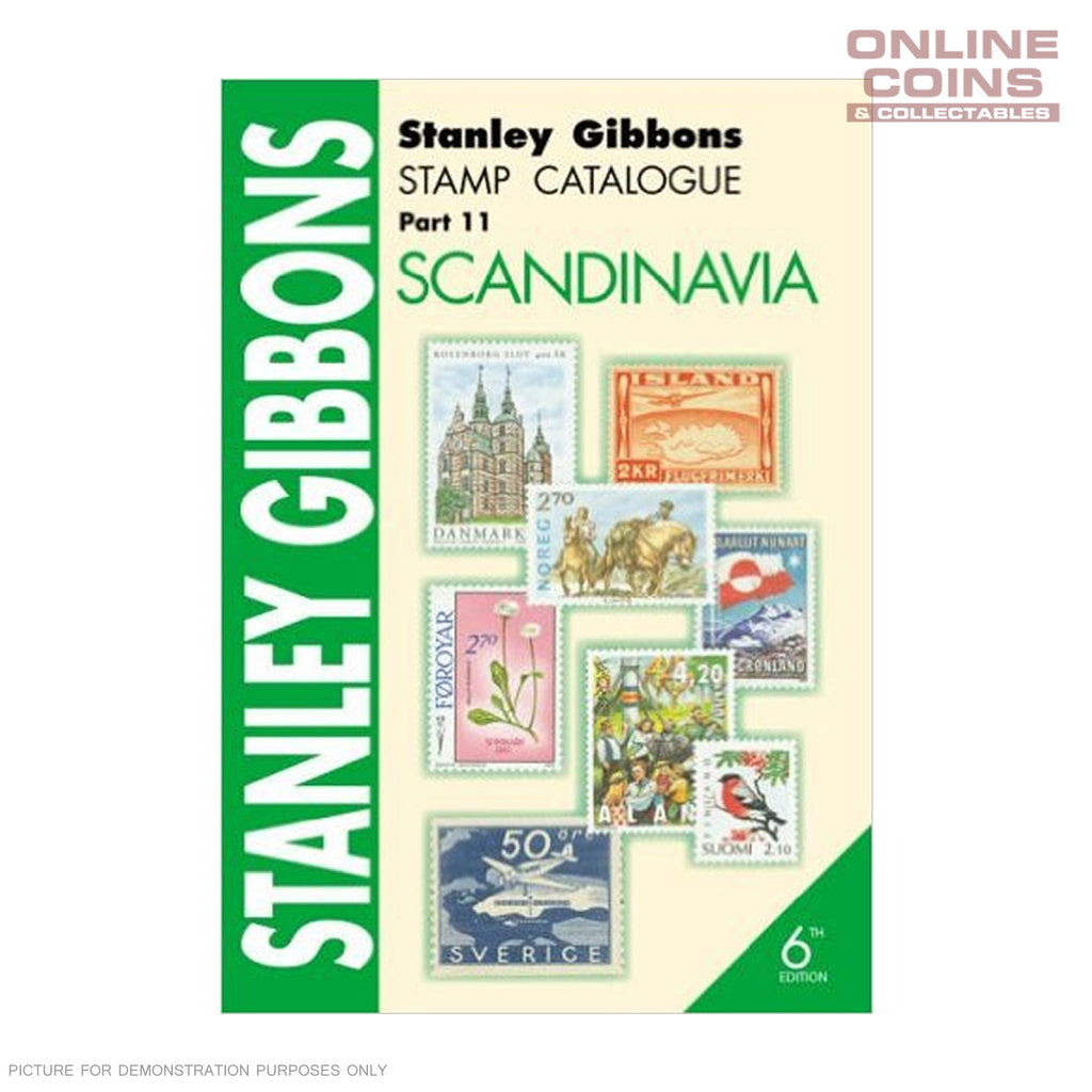 Stanley Gibbons Stamp Catalogue Scandinavia Soft Cover Book 6th Edition Part 11