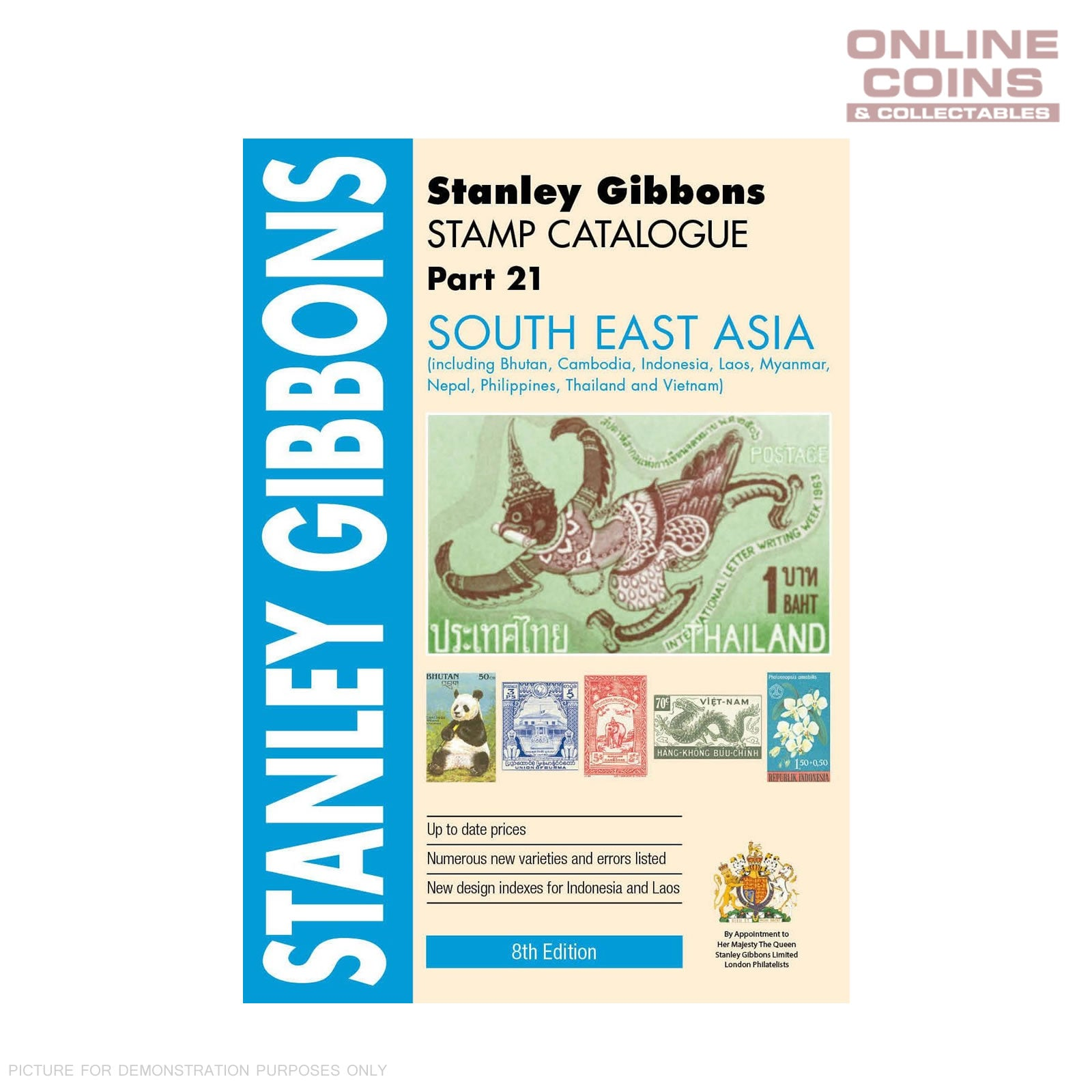 Stanley Gibbons Stamp Catalogue South East Asia P21 5th Edition Soft Cover  Book
