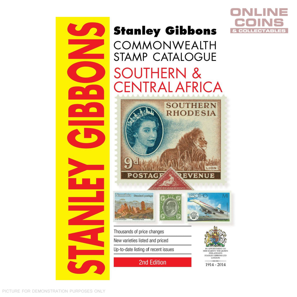 2014 Stanley Gibbons - Southern & Central Africa Soft Cover Book 2nd Edition
