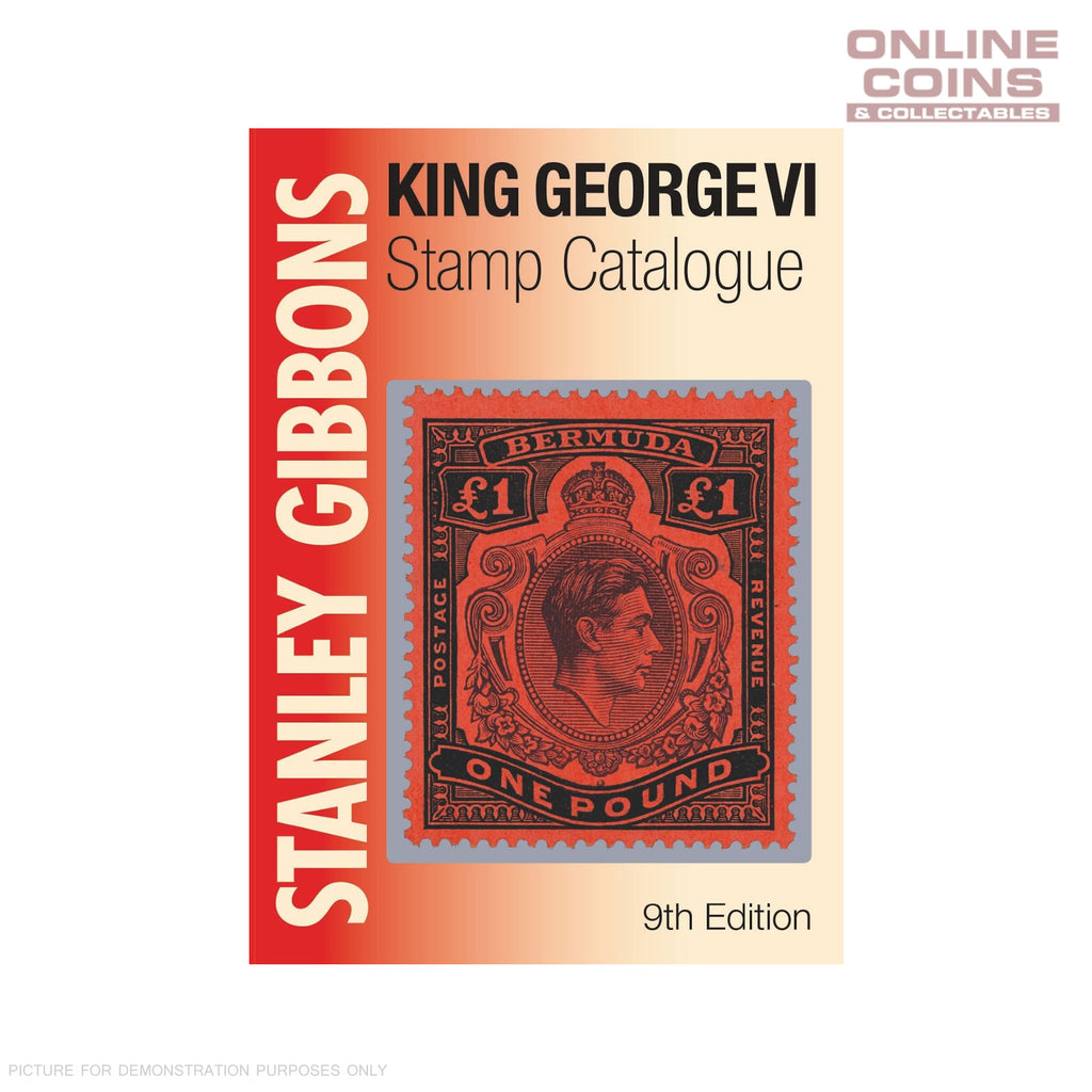 2018 Stanley Gibbons King George VI Commonwealth Stamp Catalogue 9th Ed