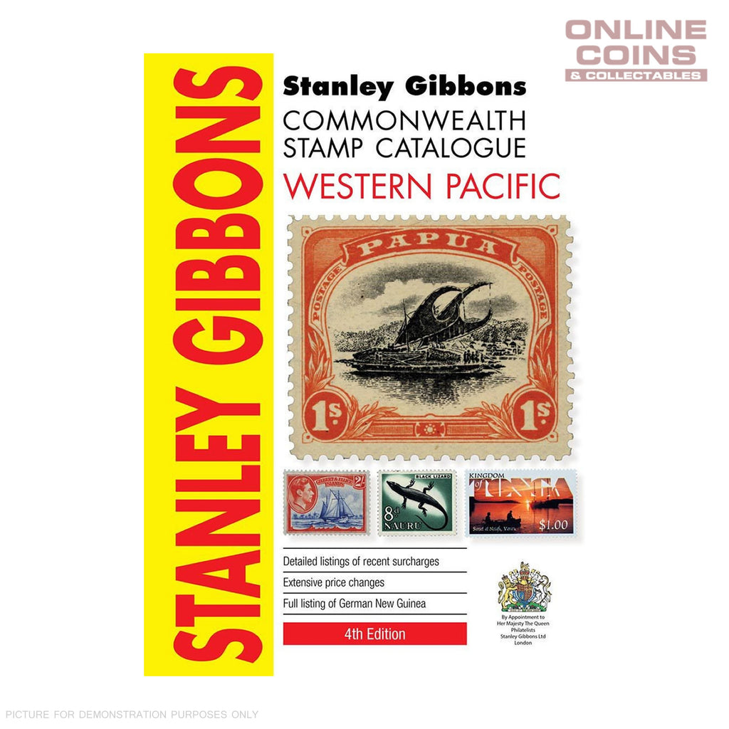 2017 Stanley Gibbons - Western Pacific Stamp Catalogue 4th Edition