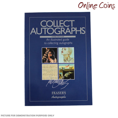 Stanley Gibbons Collecting Autographs Third Edition Soft Cover Book