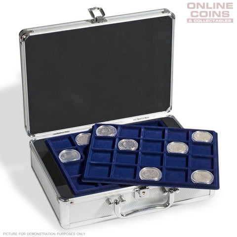Lighthouse - Aluminium CARGO S6 Coin Case for 120 Coins up to 41 mm