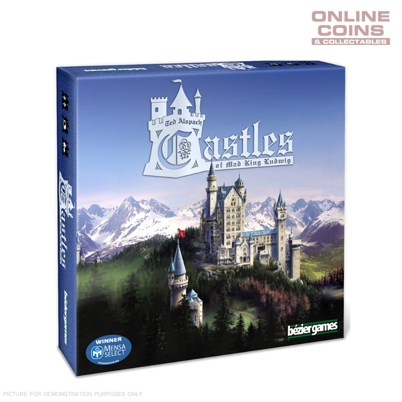 Castles of Mad King Board Game - Bezier Games