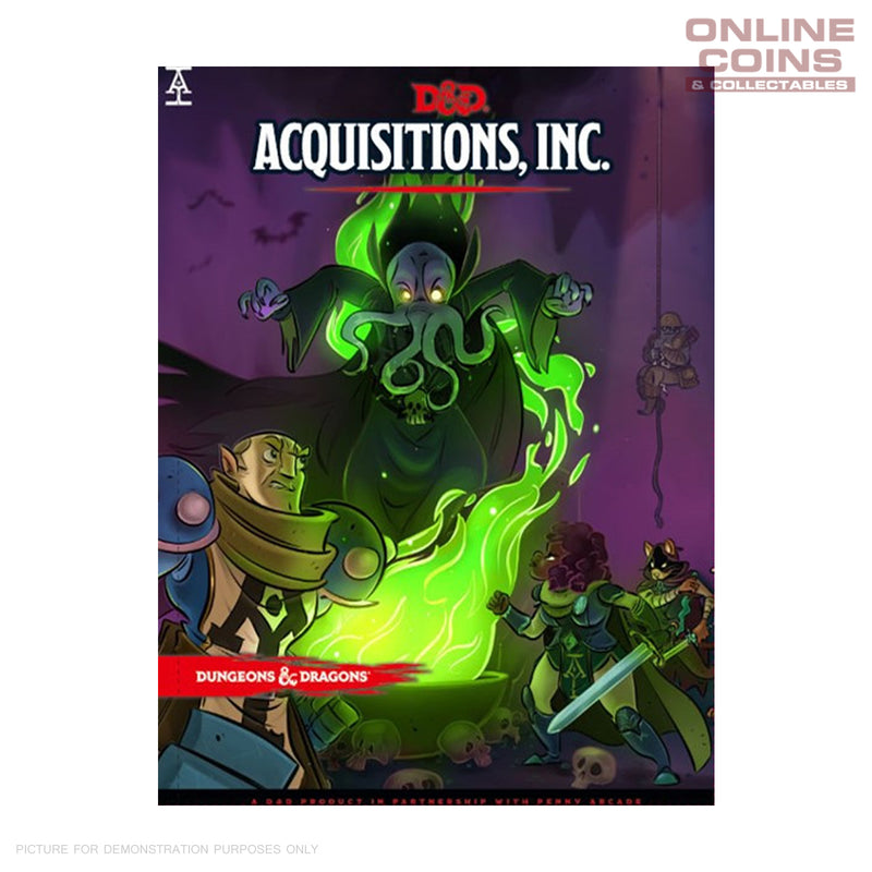 Dungeons and Dragons Acquisitions Incorporated - Hard Cover Book