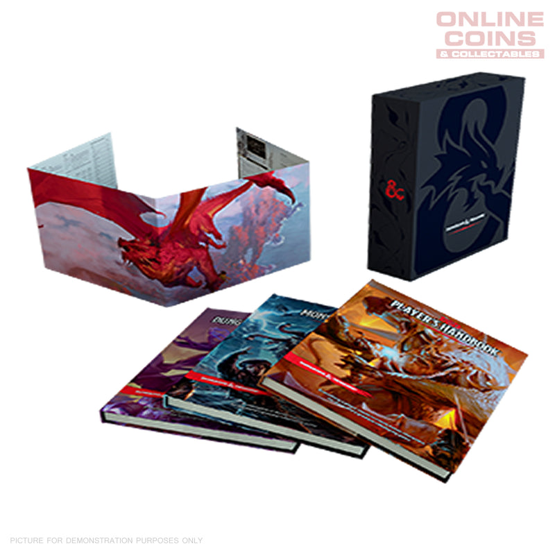 Dungeons and Dragons Core Rulebook Gift Set - NEW IN STORE