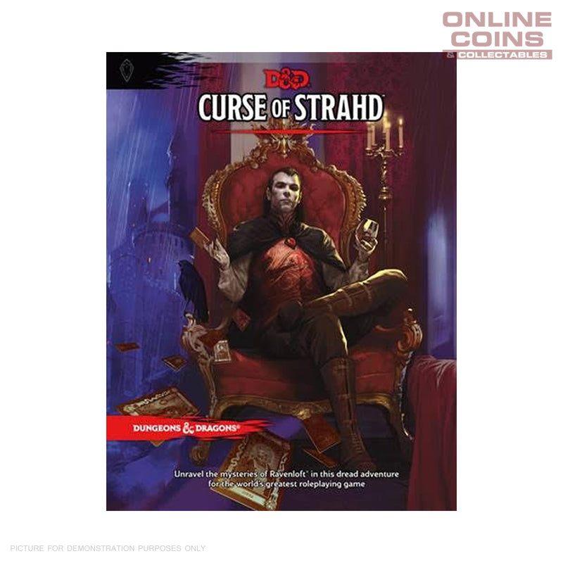 Dungeons and Dragons Curse of Strahd - Hard Cover Book