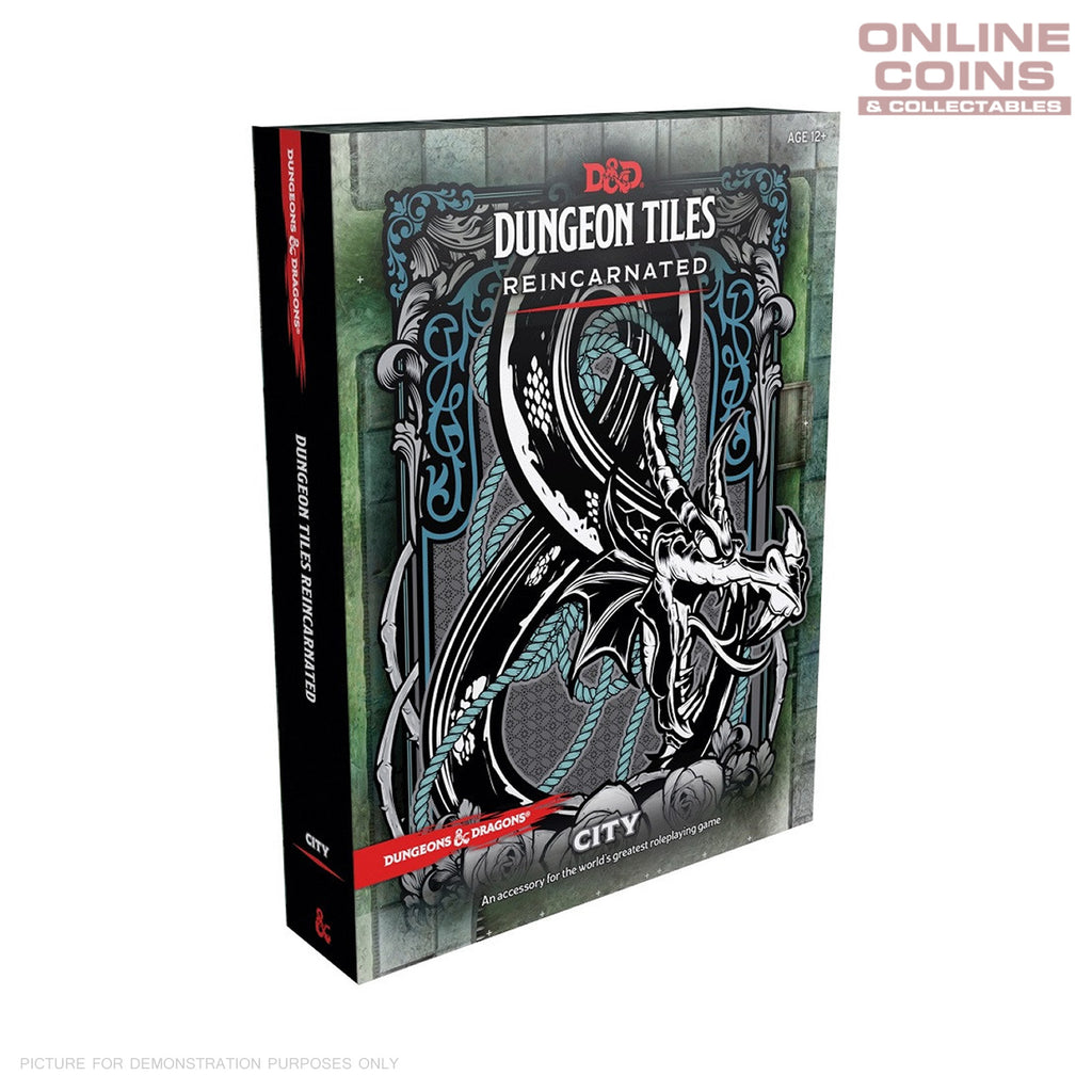 Dungeons and Dragons Dungeon Tiles Reincarnated City - Boxed