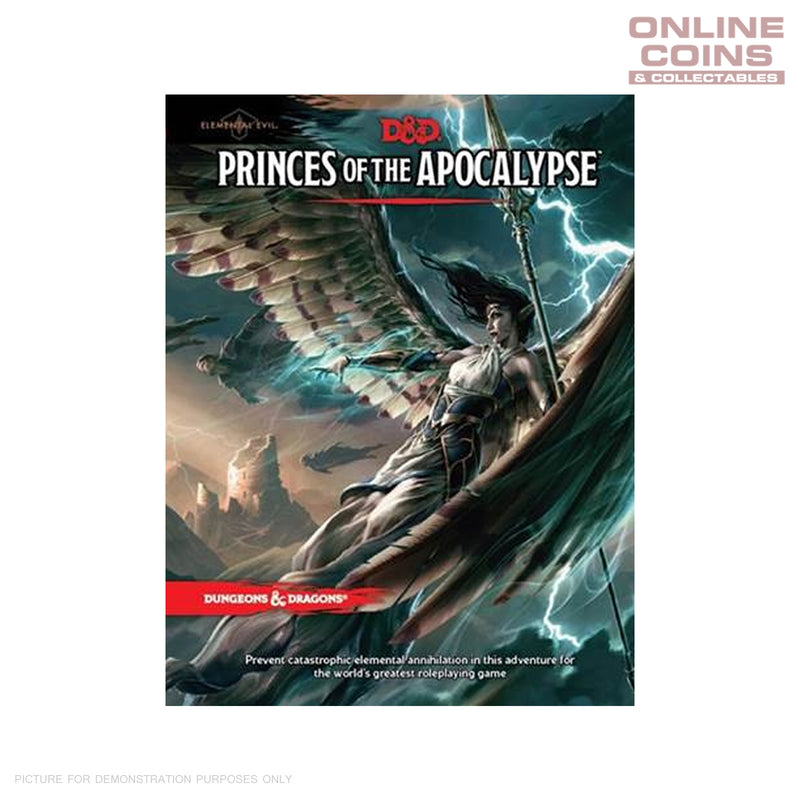 Dungeons and Dragons Elemental Evil Princes of the Apocalypse - Hard Cover Book