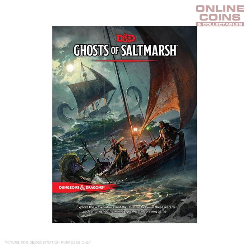 Dungeons and Dragons Ghosts of Saltmarsh - Hard Cover Book
