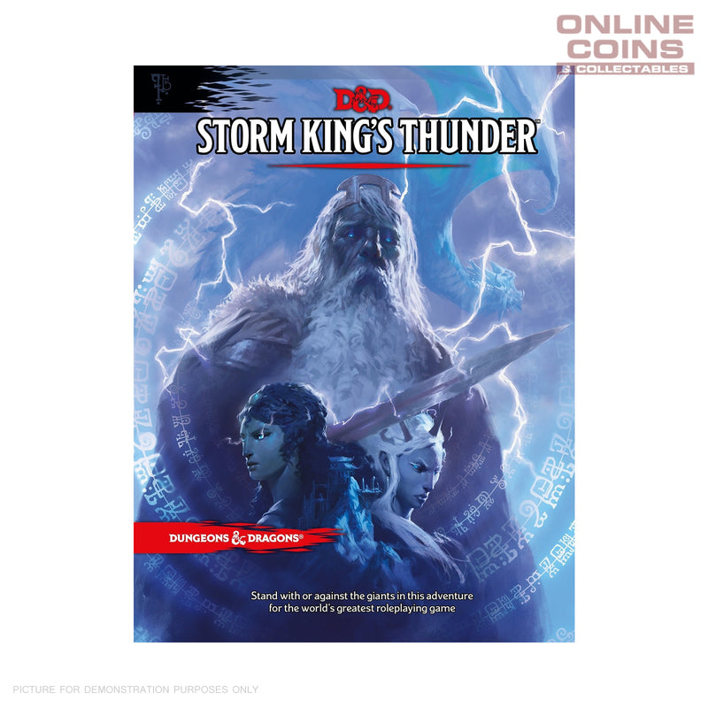 Dungeons and Dragons Storm Kings Thunder - Hard Cover Book