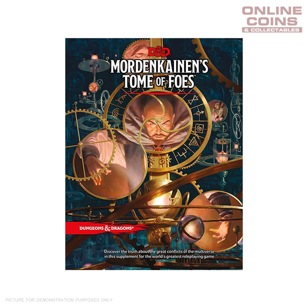 Dungeons and Dragons Mordenkainens Tome of Foes - Hard Cover Book