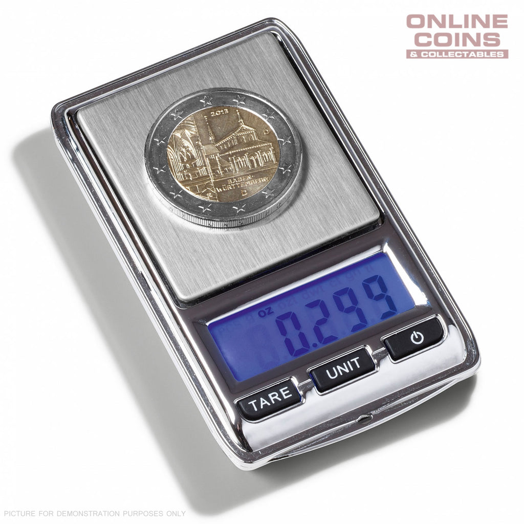 LIGHTHOUSE LIBRA MINI DIGITAL COIN SCALE Range 0.01 - 100 G LCD Display
