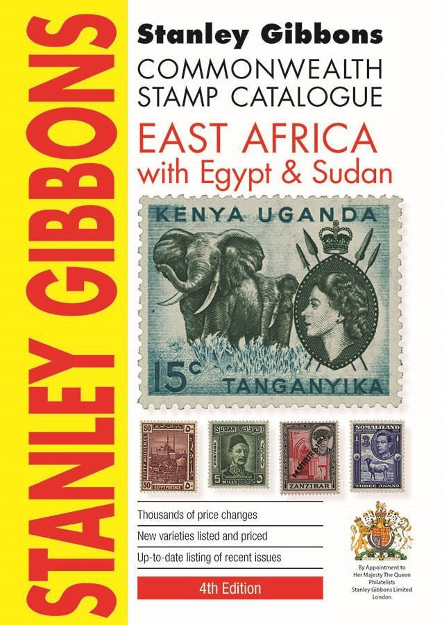 Stanley Gibbons East Africa, Egypt & Sudan 4th Edition Soft Cover Stamp Catalogue