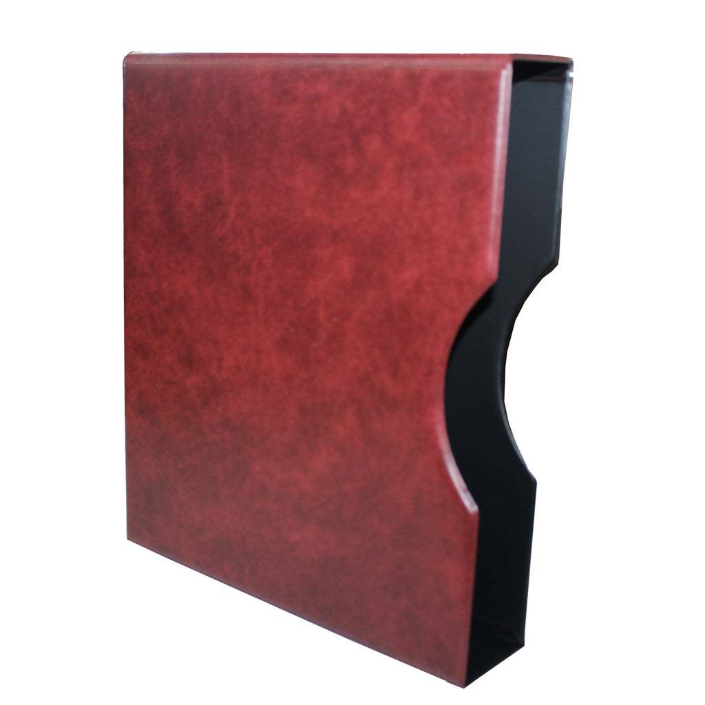 Hagner Slipcase - Claret (RED) For HDBCLA Hagner Binders