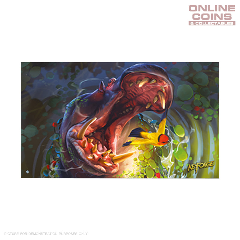 KeyForge Age of Ascension Hypnopotamus Playmat