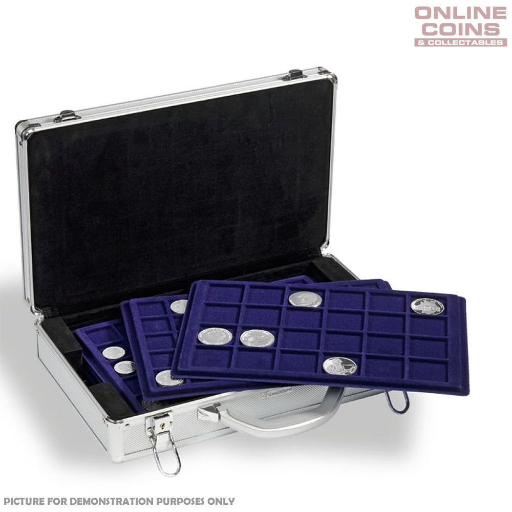 Lighthouse Aluminium Case CARGO L6 (KO3) With 6 Coin Trays for 198 Coins