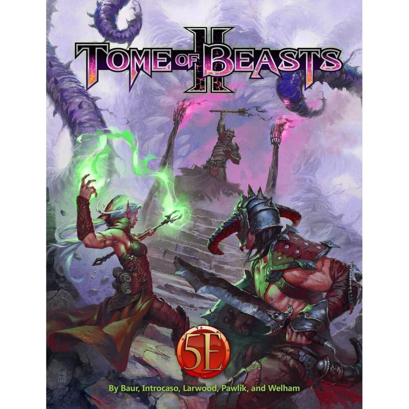 Kobold Press Tome of Beasts 2 Hardcover for 5th Edition